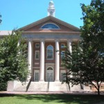 Manning Hall, the home of SILS