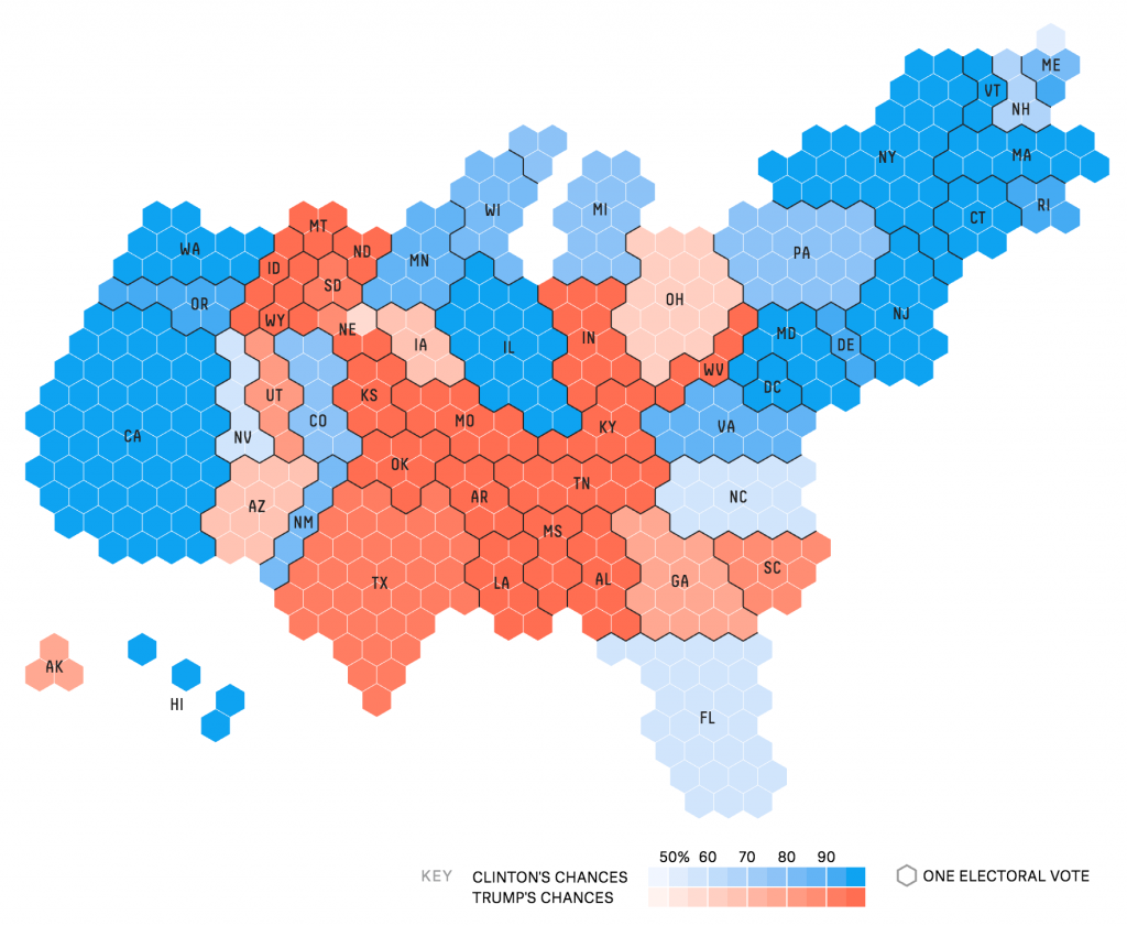 Election Maps Representing Area and Population David Gotz